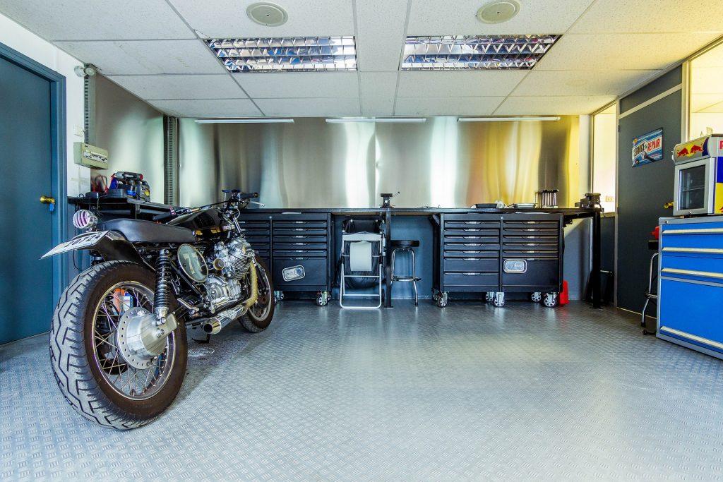 Anti Rutsch Beschichtung für die Garage