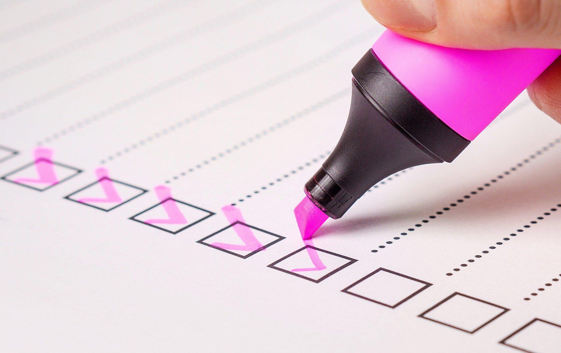 Pflegegrad beantragen - Checkliste