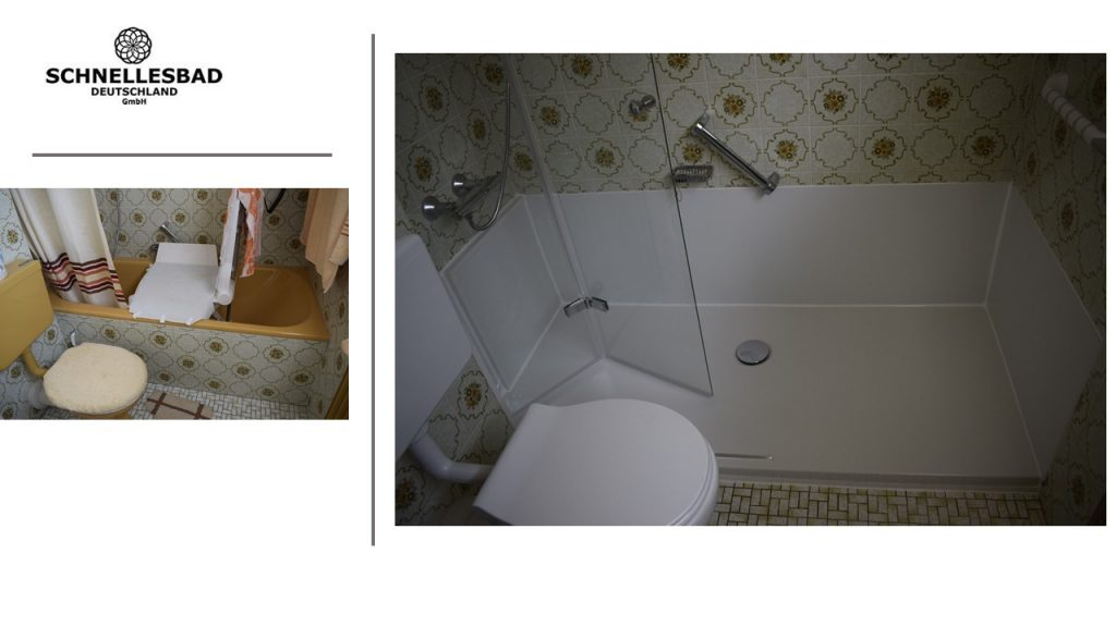 Badezimmer: Umbau Badewanne zur bodengleichen Dusche