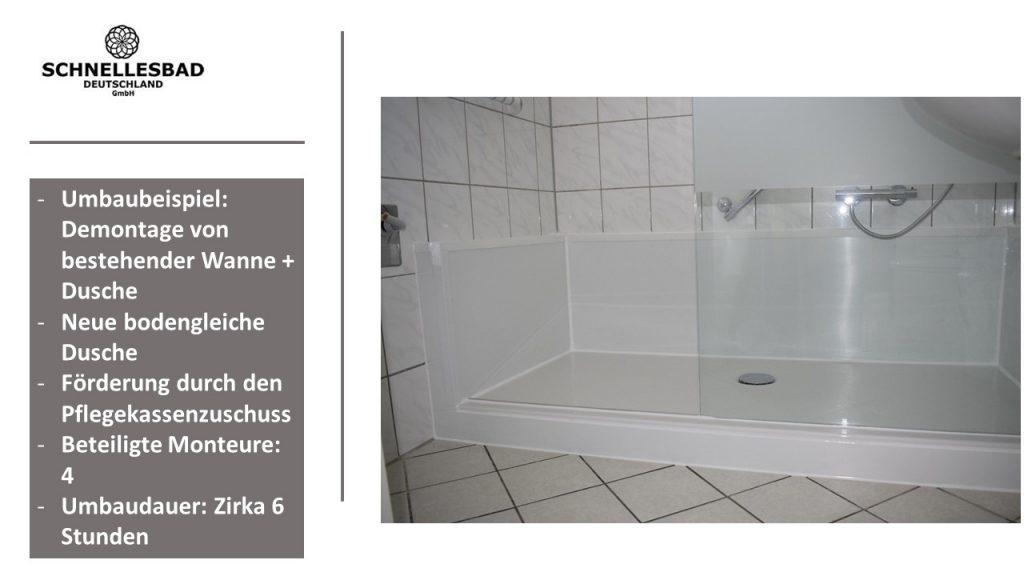 Badewanne zur Dusche II