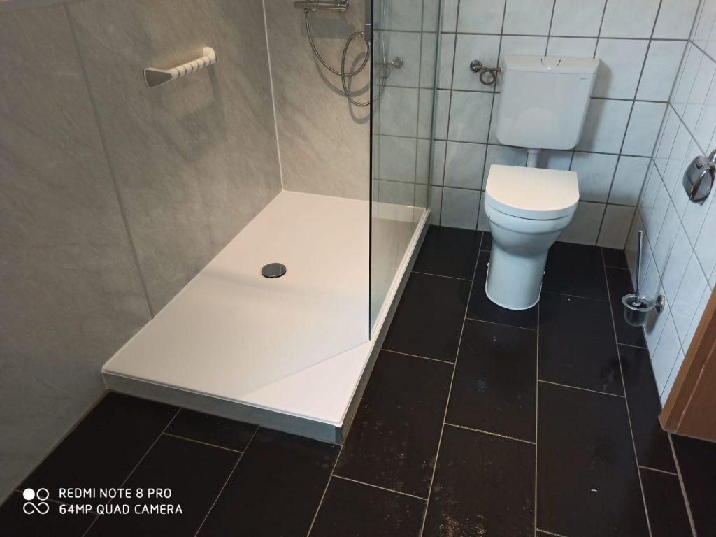 Bodengleiche barrierearme Dusche - Impressionen