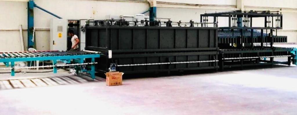 ESG Floatglas - Unsere Maschine