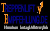 LOGO Treppenlift-Empfehlung mit Slogan 2020
